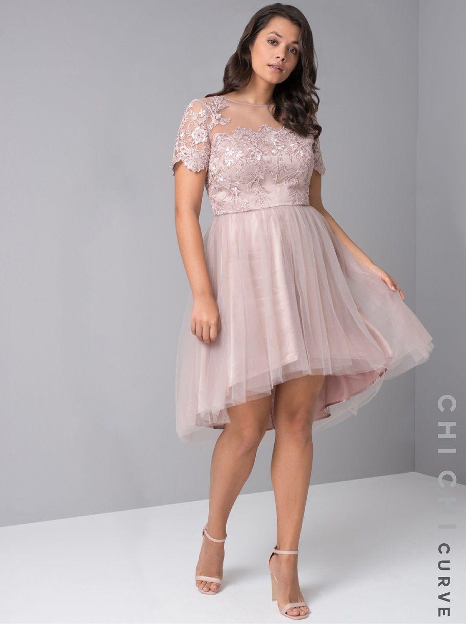 5a8b4622998b Chi Chi Curve Maolisa Dress