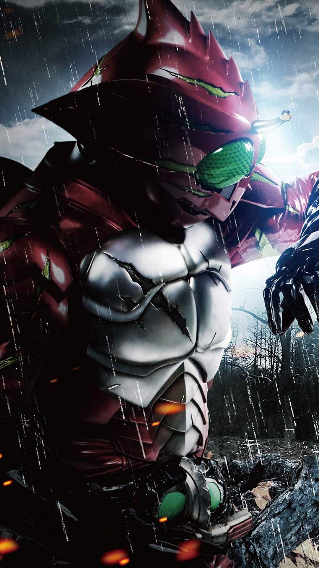 kamen rider amazon alpha 仮面ライダーアマゾンアルファ kamen raida amazon arufa ksatria animasi pemandangan anime