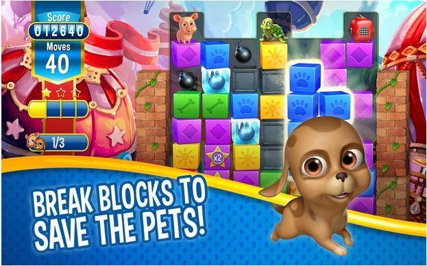 Pin By Adsblink On Apkmob Net Pet Rescue Saga Animal Rescue Rescue