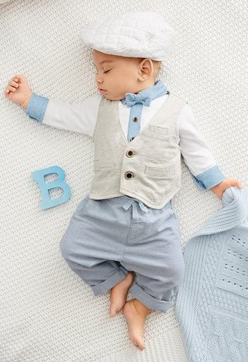 Schattig Setje Babykleding Jongens Kleinkind Junge