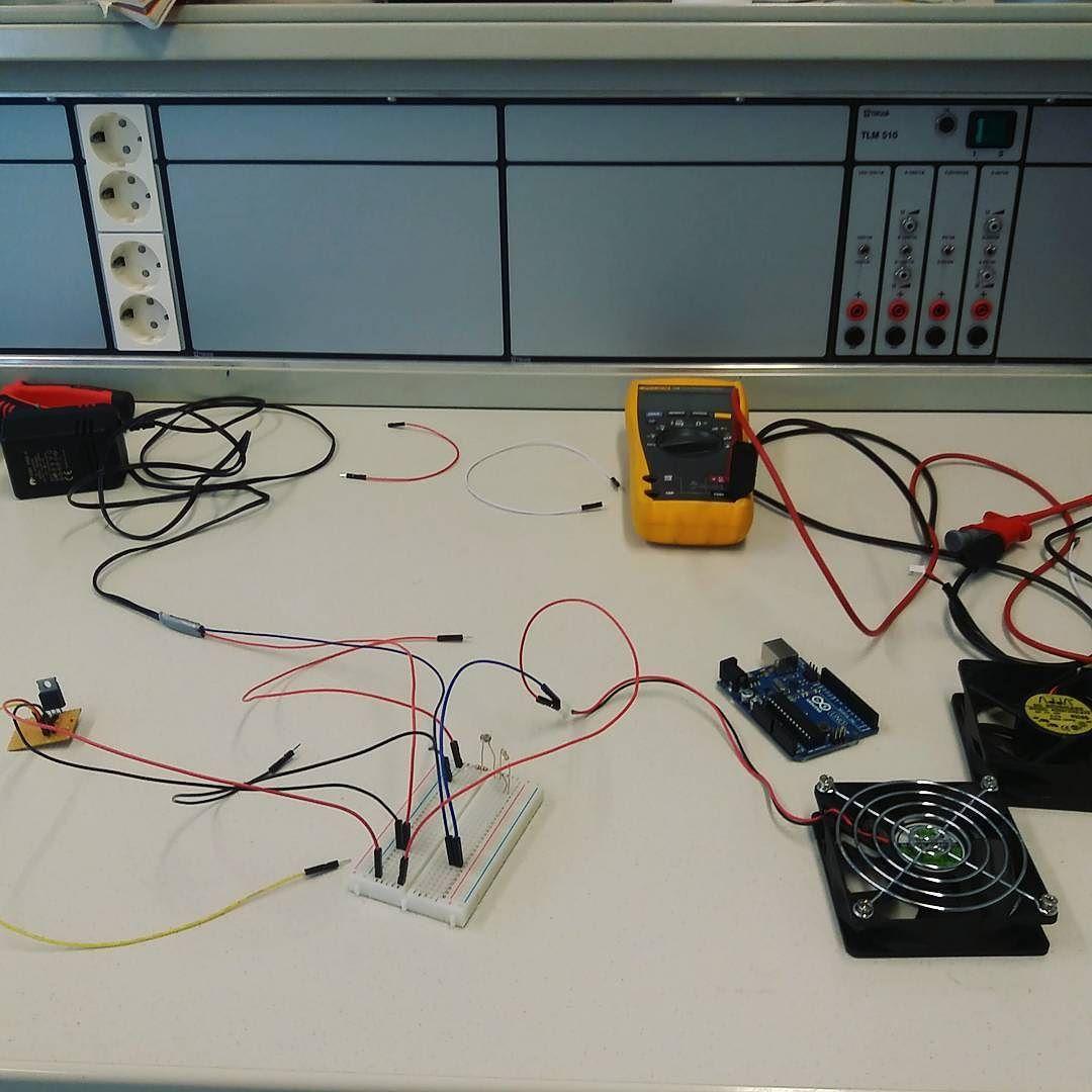Vielä sitä pääsi näpertään ennen valmistumista  #oamk #arduino #arduinouno #kahvitauko #engineering #easyliving by kalle.f