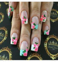 Unas Decoradas Flores Mejores Equipos Page 13 Of 15 Msry Uñas