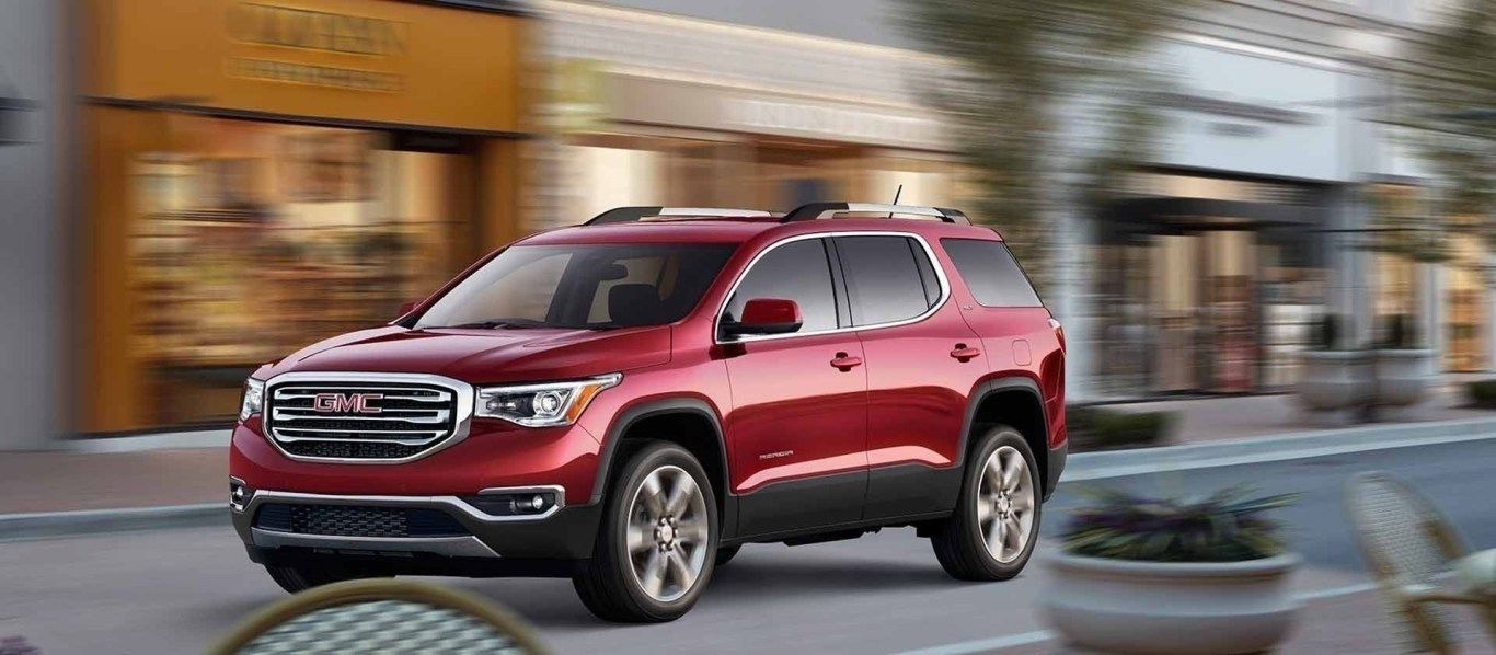 New Gmc 2019 Acadia Colors Review And Release Date Mid Size Suv