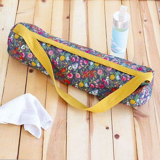 How To Sew A Yoga Mat Bag Inspired By The Great British Sewing Bee Yoga Mat Bag Pattern Yoga Bag Pattern Yoga Matt Bag