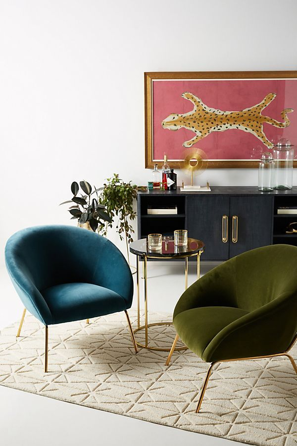 Slide View: 7: Velvet Hillside Accent Chair | BB5. Dwellings Furniture  And/or Decor I Like | Pinterest | Living Rooms, Architecture Interiors And  Room