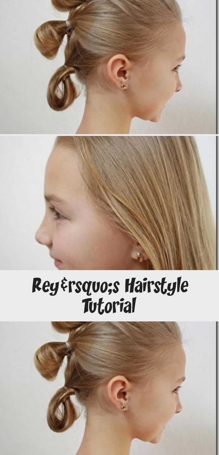 Rey S Hairstyle Tutorial In 2020 Hair Tutorial Hair Styles Pinup Hair Tutorial