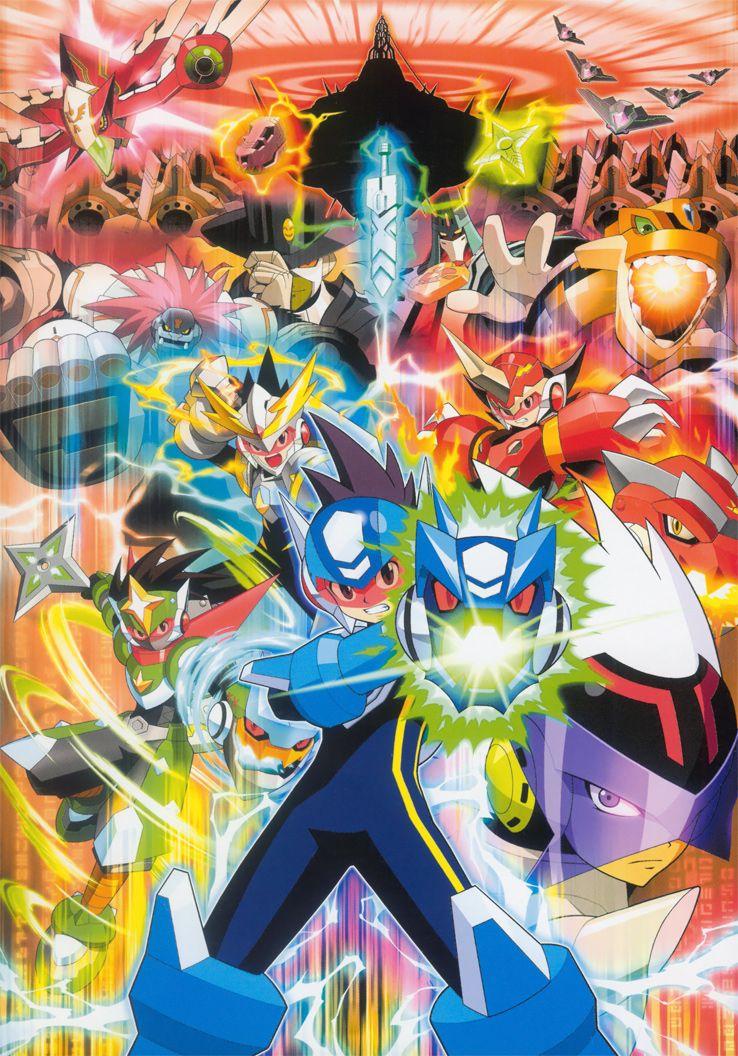 Megaman Starforce /// Genres Adventure Mega man art