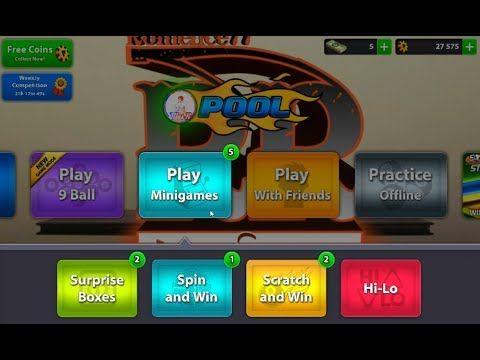 8 Ball Pool Free Minigames Pool Balls 8ball Pool Pool Hacks