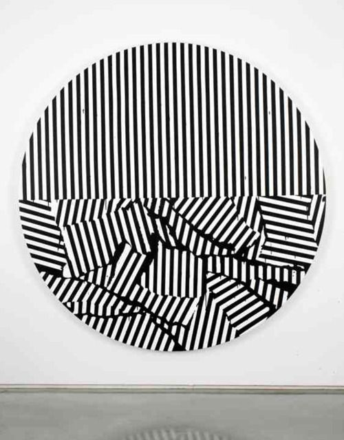 Gardar Eide Einarsson. Painting. #stripes #striped