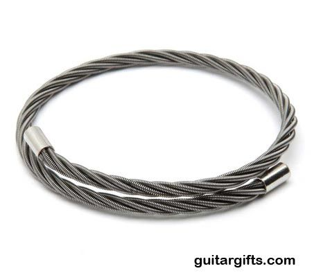 Guitar String Bracelet It S Made From Strings Gifts A Clever And Unique Gift Idea For Any Player Or B