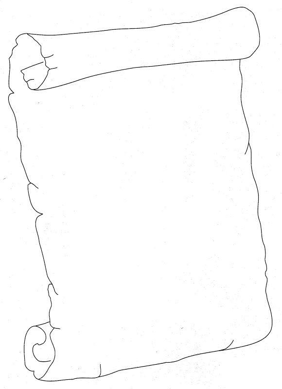 Dibujos de pergaminos para colorear - Imagui | jj | Pinterest ...