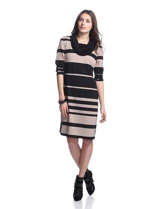 50% OFF Sandra Darren Women's Cropped Sleeve Sweater Dress
