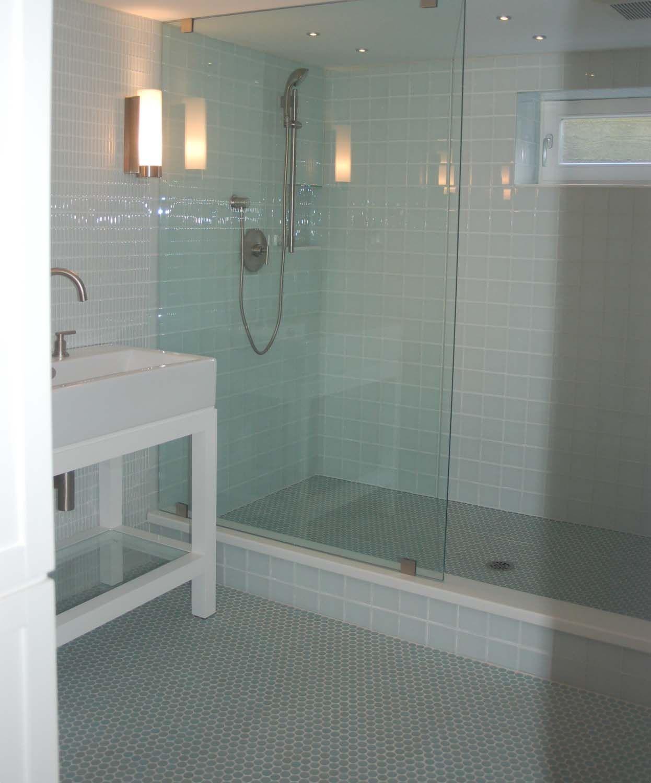 Flooring can make or break a room! | White tile shower, Tile ...