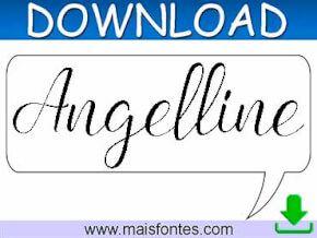 Font Angelline Free Download