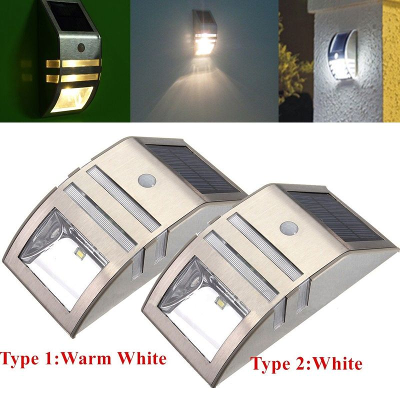 Led Zonne Energie Pir Motion Sensor Wandlamp Outdoor Waterdichte Energiebesparing Thuis Tuin Beveiliging Lamp Mayitr Outdoor Wall Lighting Outdoor Lighting Solar Power