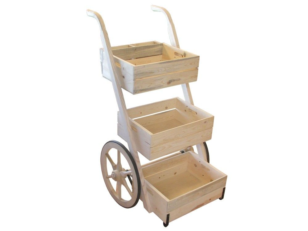 Small Display/Vending Cart Display Wagons & Vending Carts | Hansen Wheel and Wagon