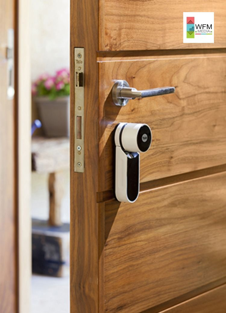 Unlock Your Smart Home With A Yale Smart Door Lock In 2020 Smart Door Locks Door Locks Digital Door Lock