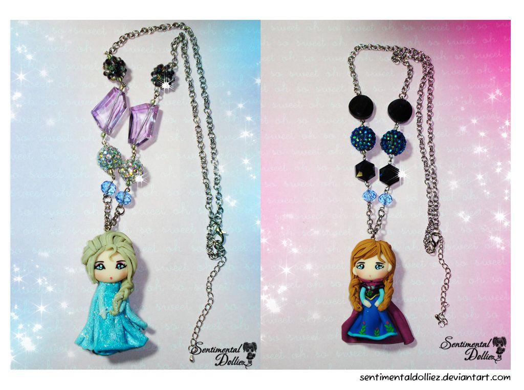Disney Frozen Necklaces ~ by SentimentalDolliez