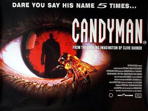 Candyman 1992 Original Vintage Uk Quad Movie Poster In 2018 Best