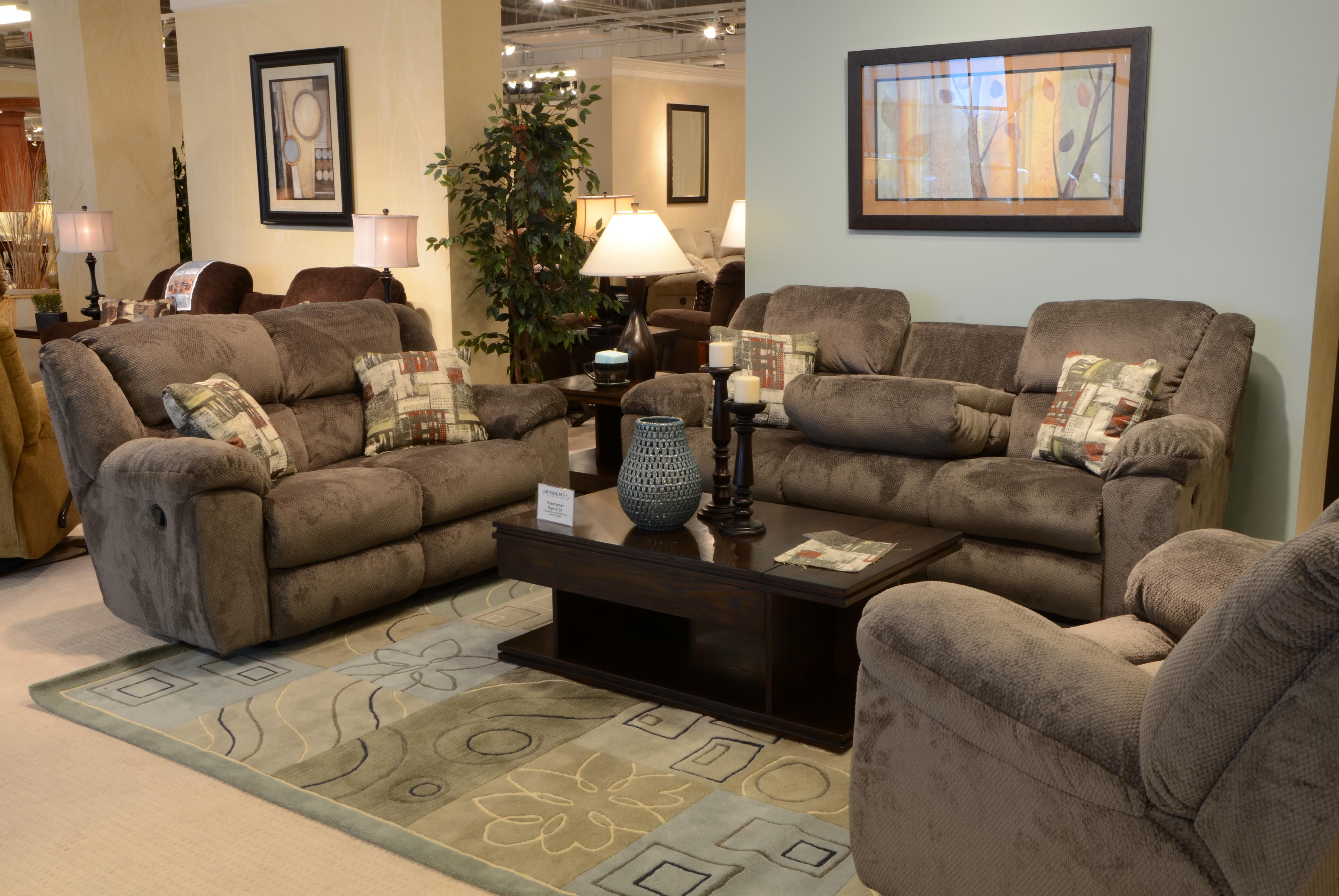 triple reclining sofa metal futon bed uk the seal collection offers a also available in power recline super soft gray chenille fabric offered at 898 88