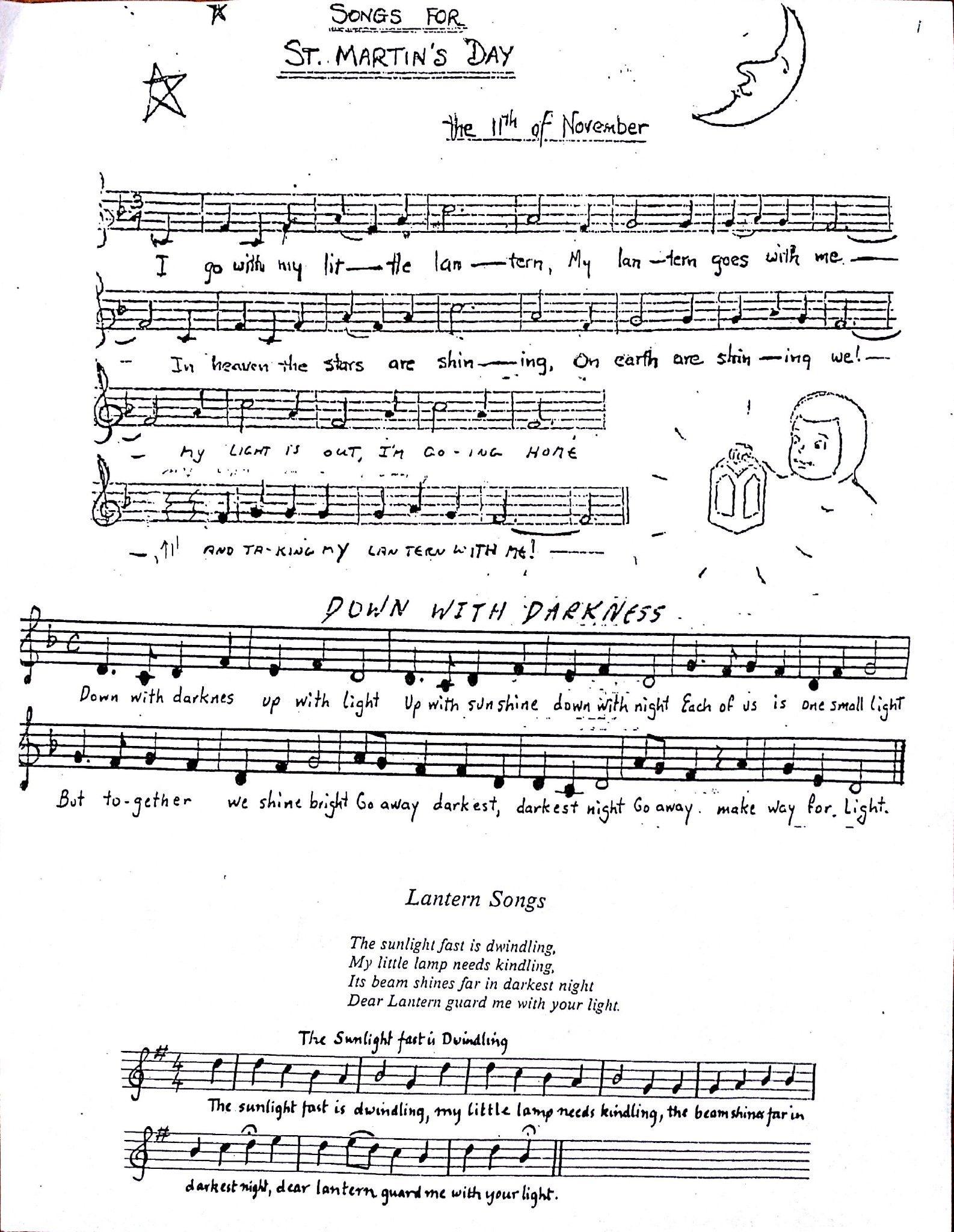 Lantern Songs Sheet Music