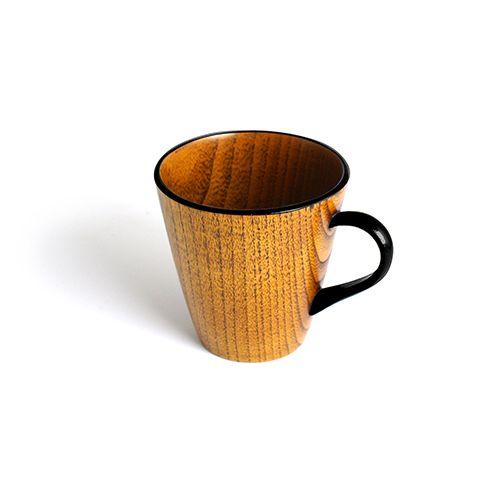 Vカップ摺漆塗り(黒塗)/一和堂工芸 NET SHOP|香川漆器 和食器 ギフト 通販 販売 修理