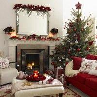Decorazioni Tradizionali Per Camini Moderni Natale Pinterest
