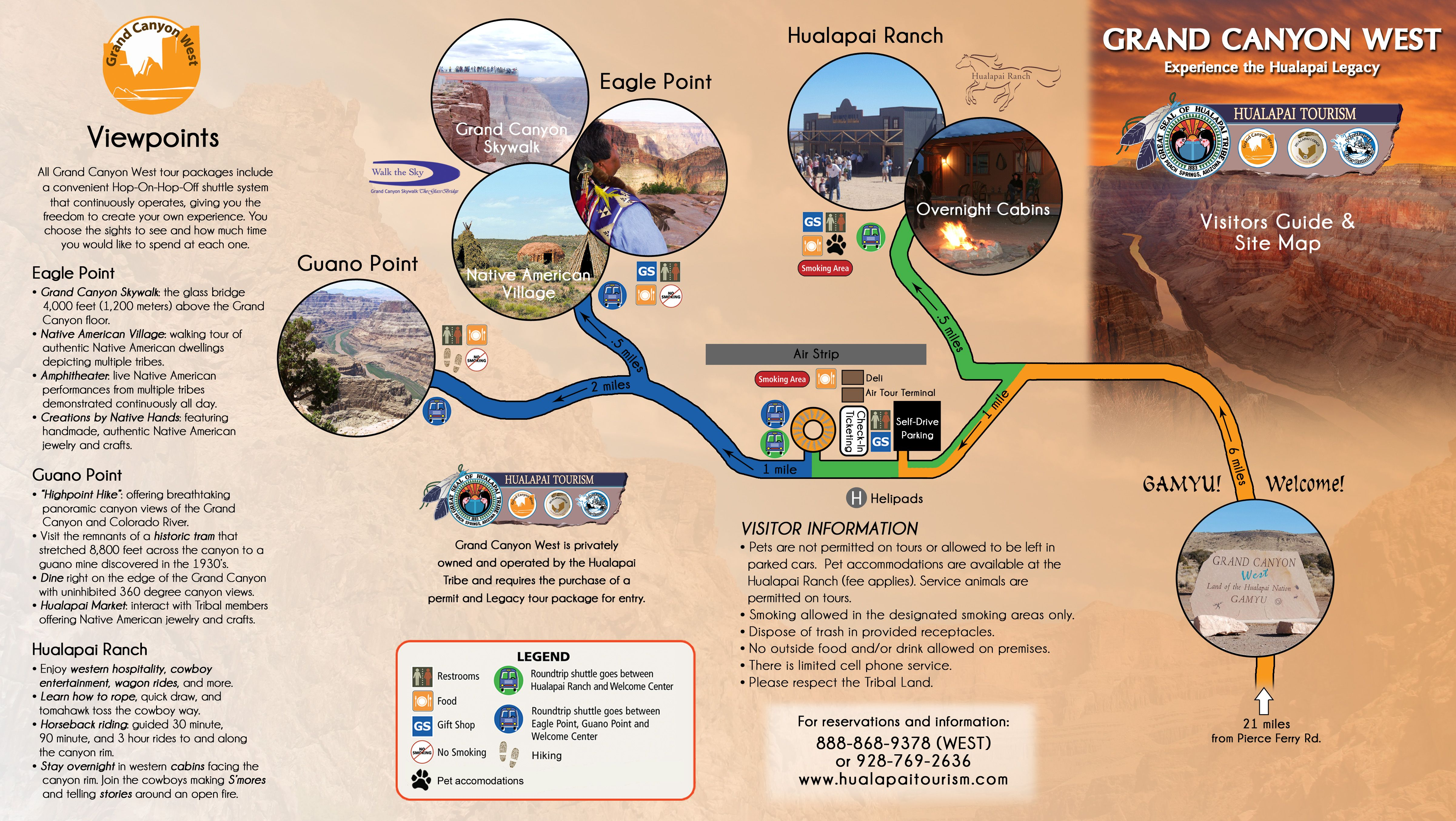 map grand canyon west rim Grand Canyon West Map Grand Canyon West Grand Canyon Map Trip map grand canyon west rim