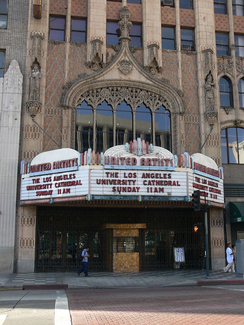 Los Angeles United Artists Theatre 2008 2 Hôtel Ace Los