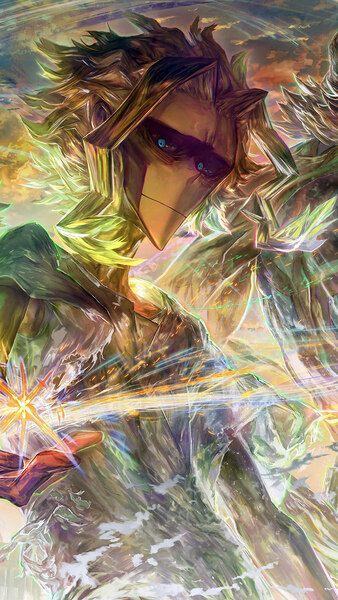 All Might Toshinori Yagi My Hero Academia 4K HD Mobile