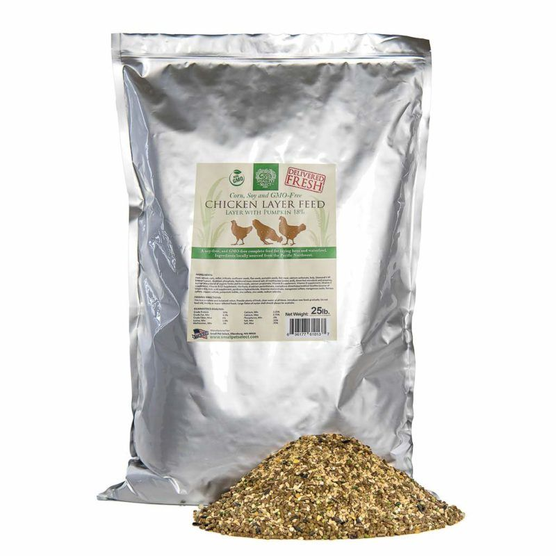 7 Best Chicken Feed for Laying Hens (Natural, Organic, and