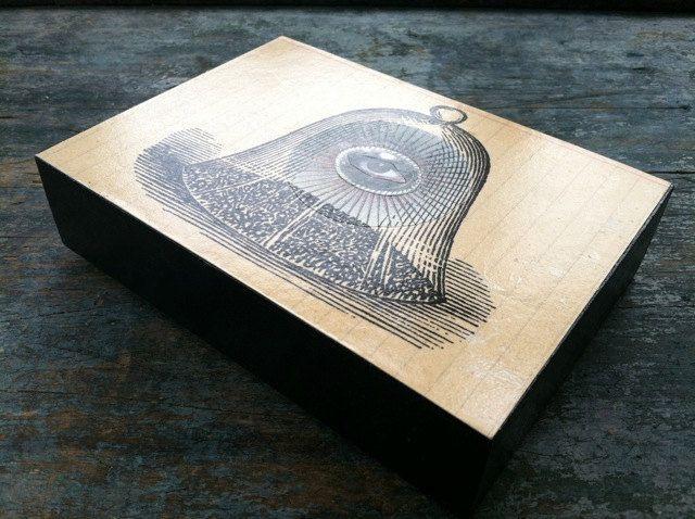 All Seeing Eye  - Original COLLAGE mounted on wood panel