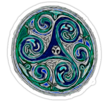 The Triskelion Is A Celtic Symbol For Mother And Her Many Aspects