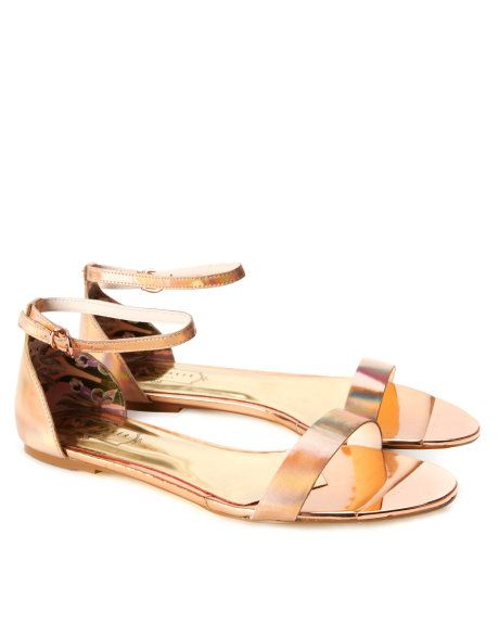 34a6edee8d04 Ankle strap sandal - Rose Gold