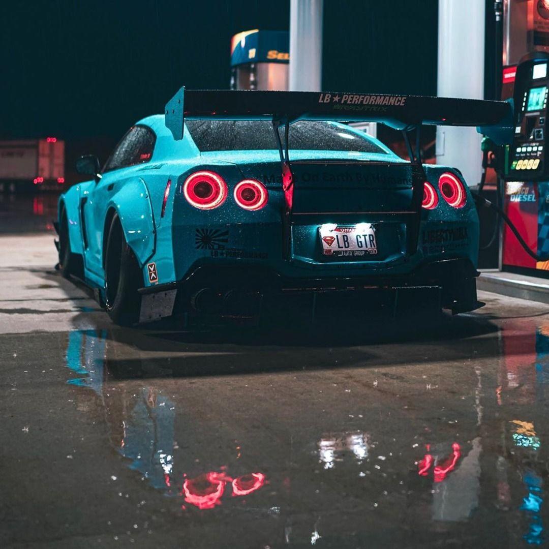 Blue Monster #nissangtr