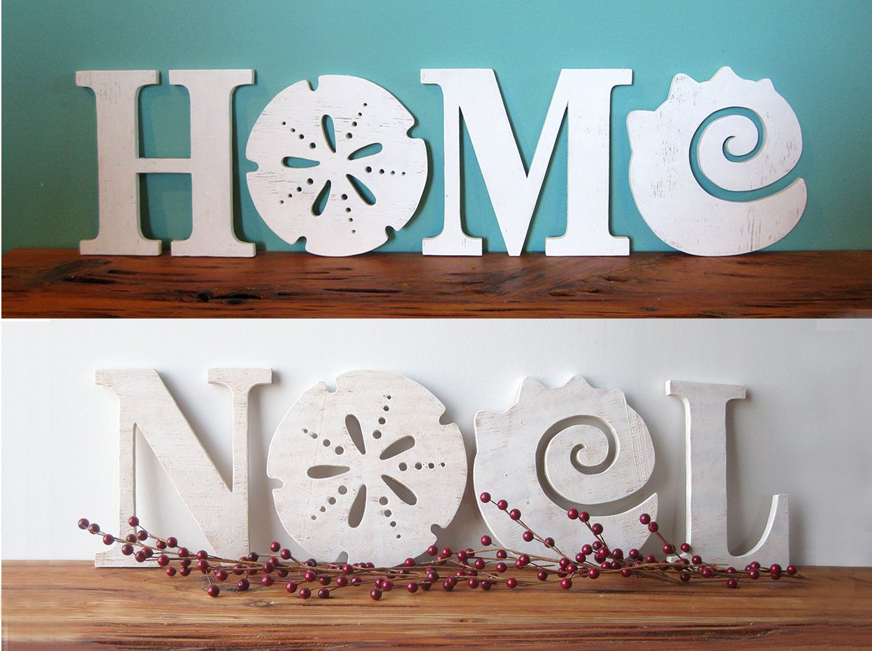 Noel Beach Sign With Images Handmade Home Decor Decor