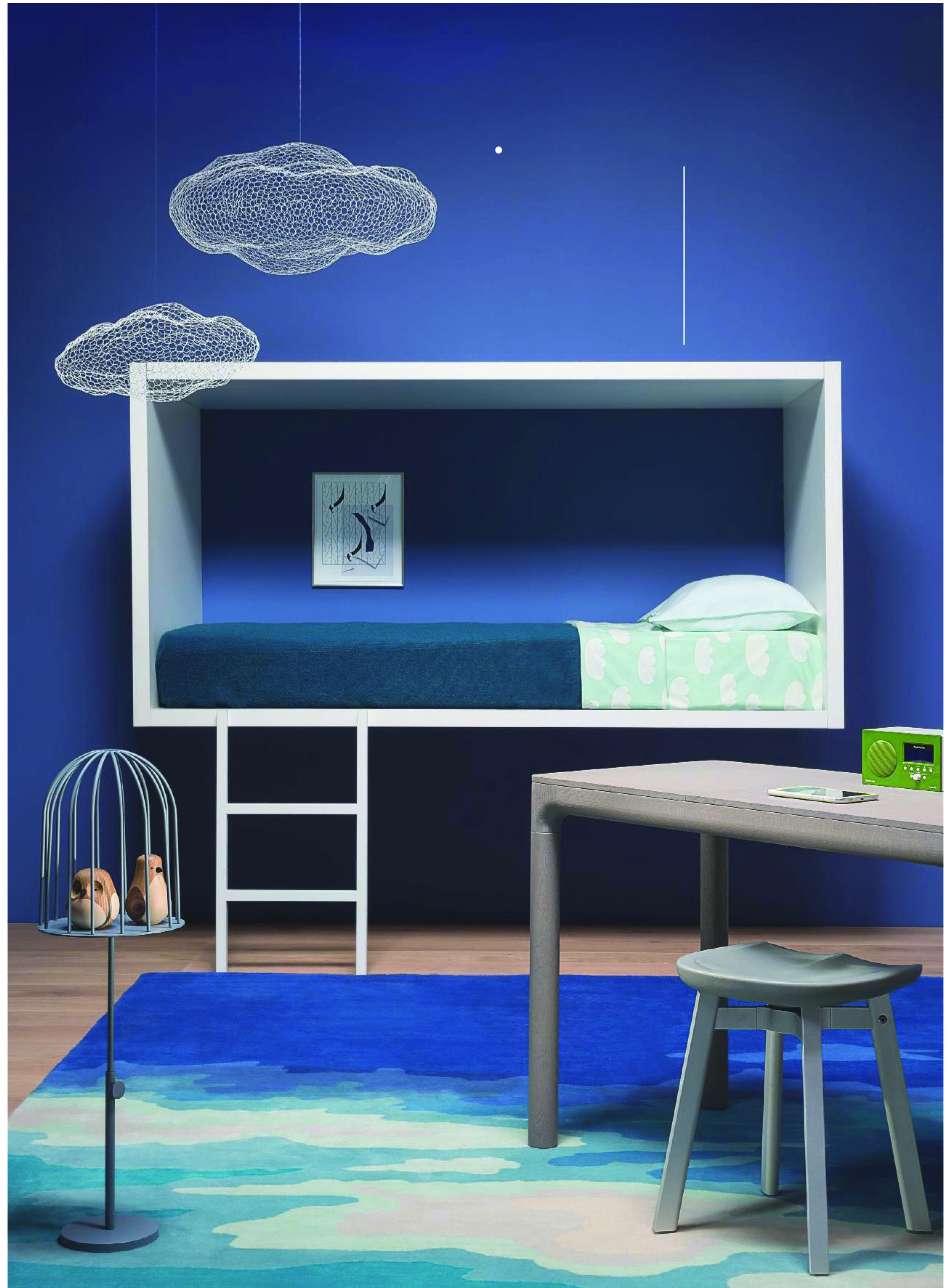 Childrens loft bedroom ideas  Une chambre duenfant tout en suspension via Wallpaper magazine  kid