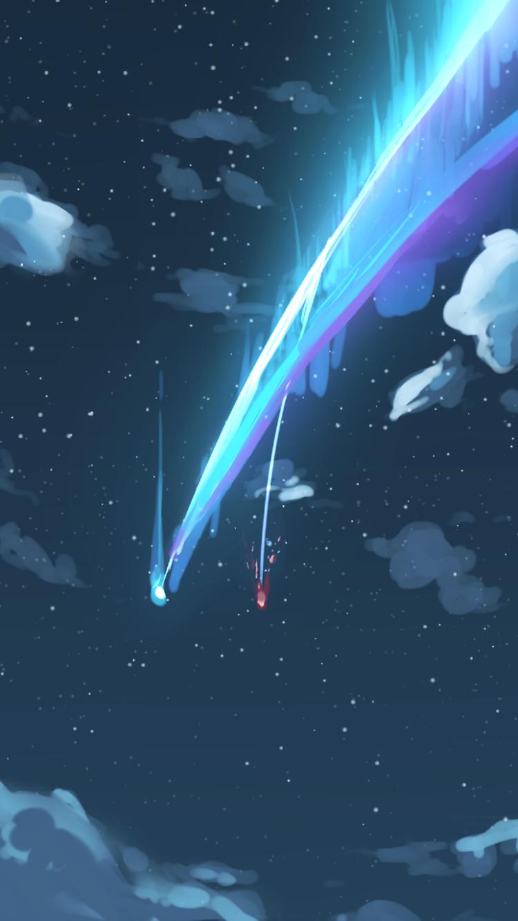 Your Appleiphone Plus X Wallpapers Pemandangan Anime Pemandangan Seni