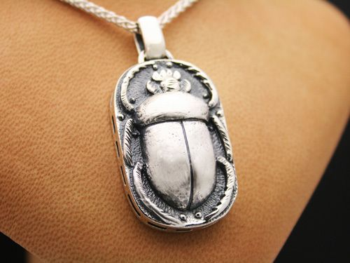 925 sterling silver scarab pendant jewelry egypt dung beetle 925 sterling silver scarab pendant jewelry egypt dung beetle talisman egyptian ebay aloadofball Gallery