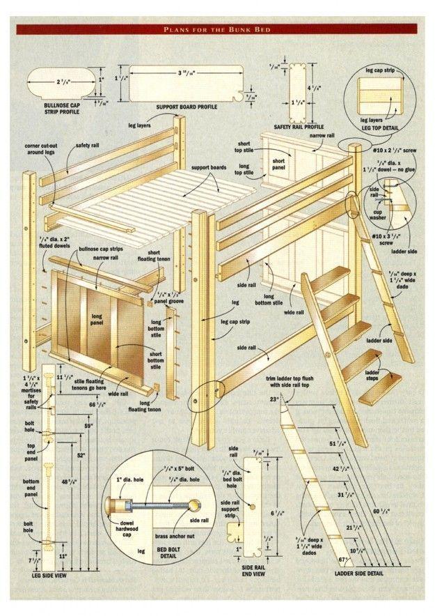 Elegant Junior Loft Bed Stock Of Bed Decorative