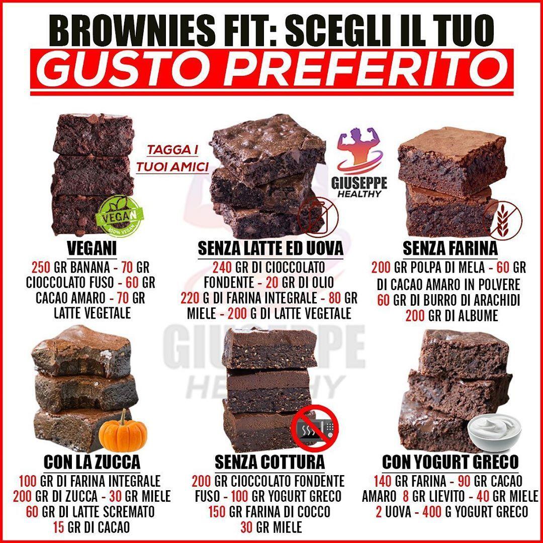 Ricetta Dolci Fit.I Brownie Sono Tra I Miei Dolci Preferiti Oggi Vi Propongo Delle Idee Fit Per Tutte Le Esigenze Sono Tutte Ricette Molto Ricette Idee Alimentari Sane Cibo