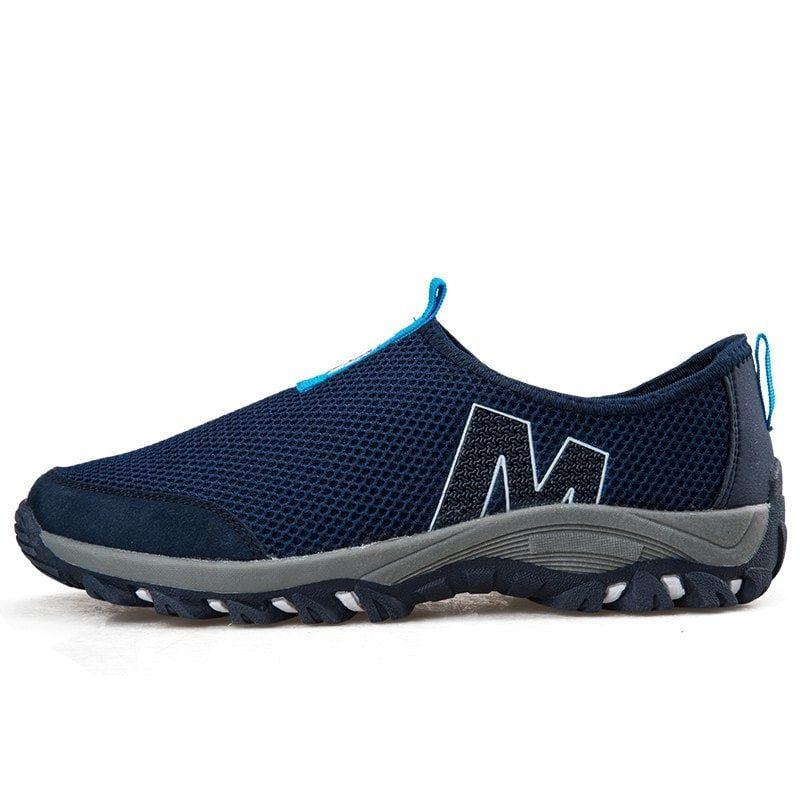58536d06d6d ZEACAVA Mesh Breathable Men s Sports Shoes - COBALT BLUE   3 other colors