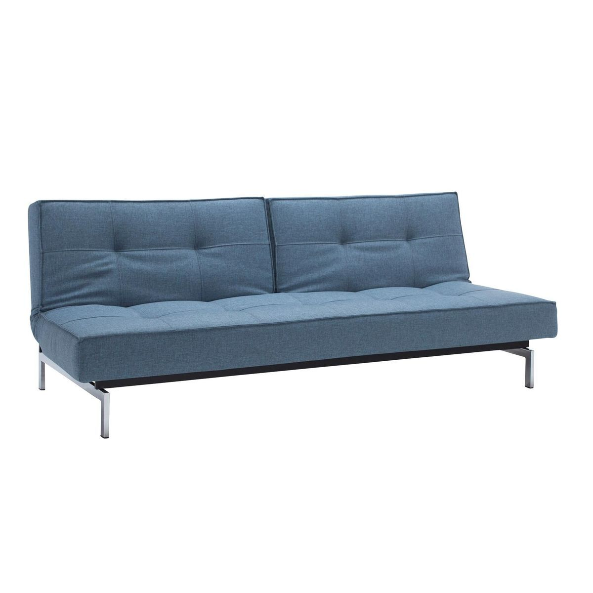 Beeindruckend Couch Hellblau Das Beste Von Innovation - Splitback Schlafsofa - Hellblau/stoff 525