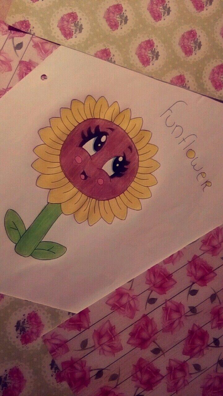 Sunflower drawing flower sunflower my drawings