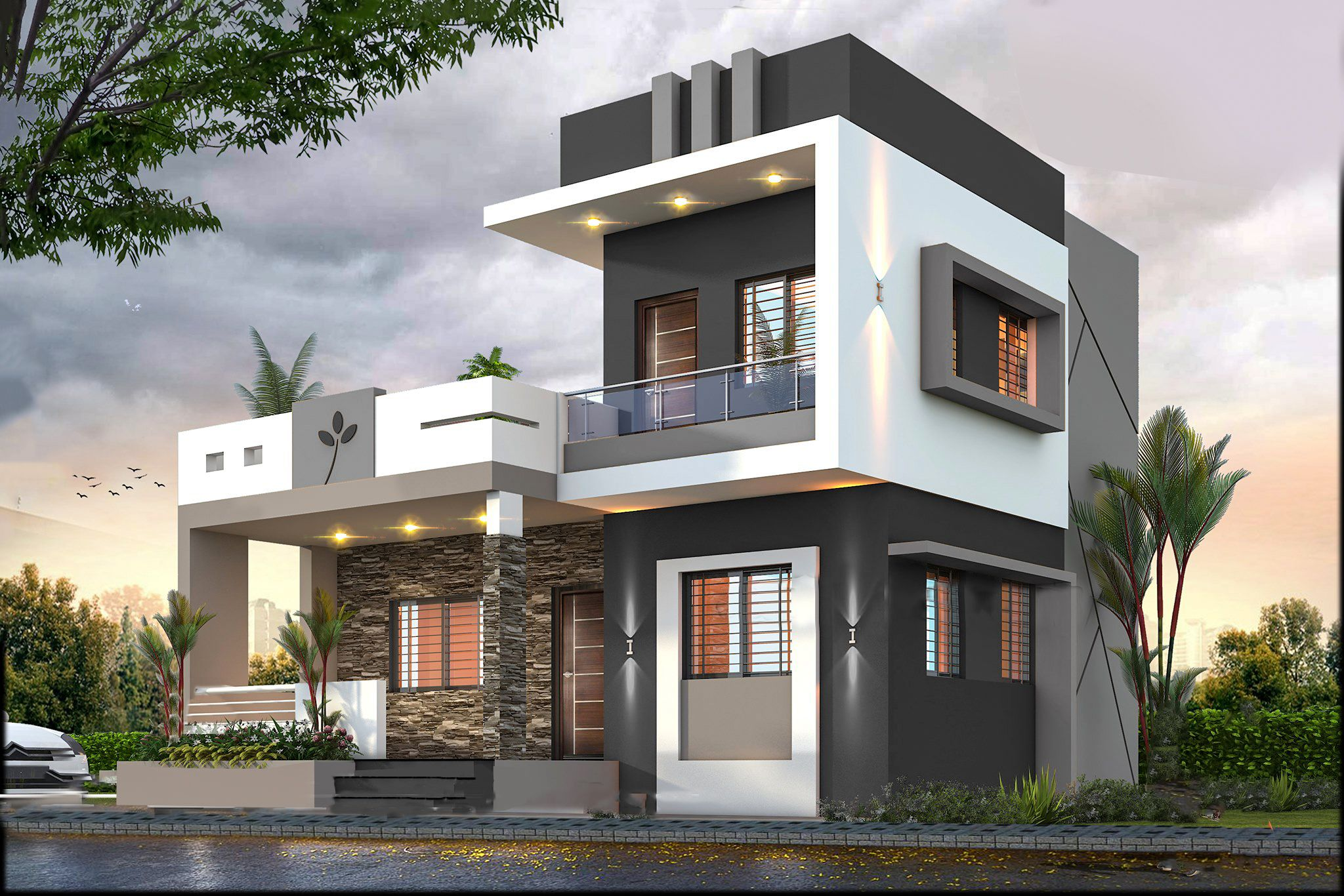 Single Floor Home Designs Small House Front Design Small House Design Exterior House Front Design