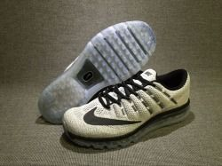 separation shoes ea2d9 bd89d New arrive Nike Air Max 2016 WhiteBlack Mens Running Shoes Sneakers 806771  101
