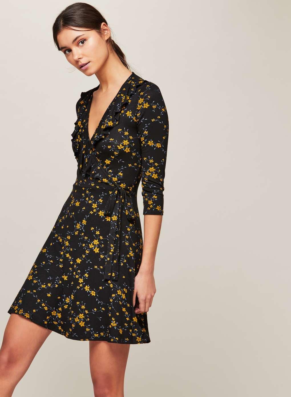 Womens Stripe High Neck Swing Dress Miss Selfridge Free Shipping Best Wholesale 08epGn