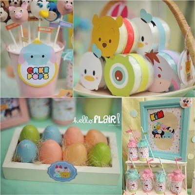 Tsum Tsum Cake Pop Design