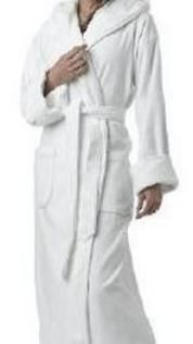 Extra Long Robes Tall Women Mens Womens Terry Robe Cotton Velour Floor Length