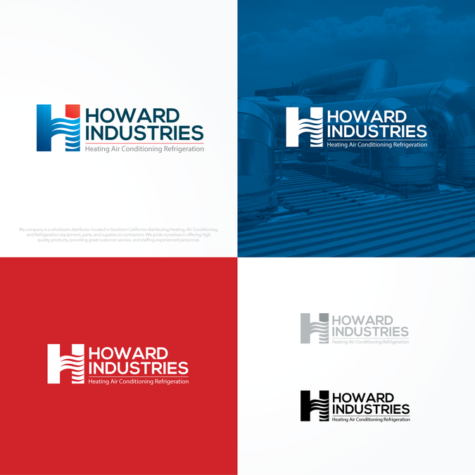 Howard Industries Needs A Fresh And Updated Logo By Blinca